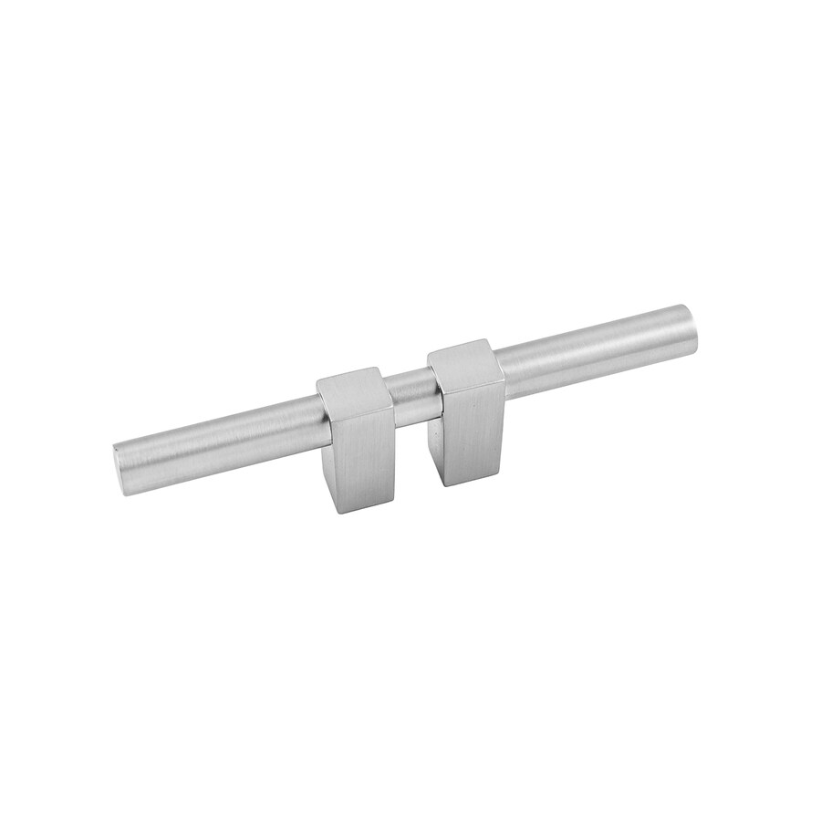 Continental Home Hardware 3/4-in Center-to-Center Satin Nickel Elon Bar Cabinet Pull