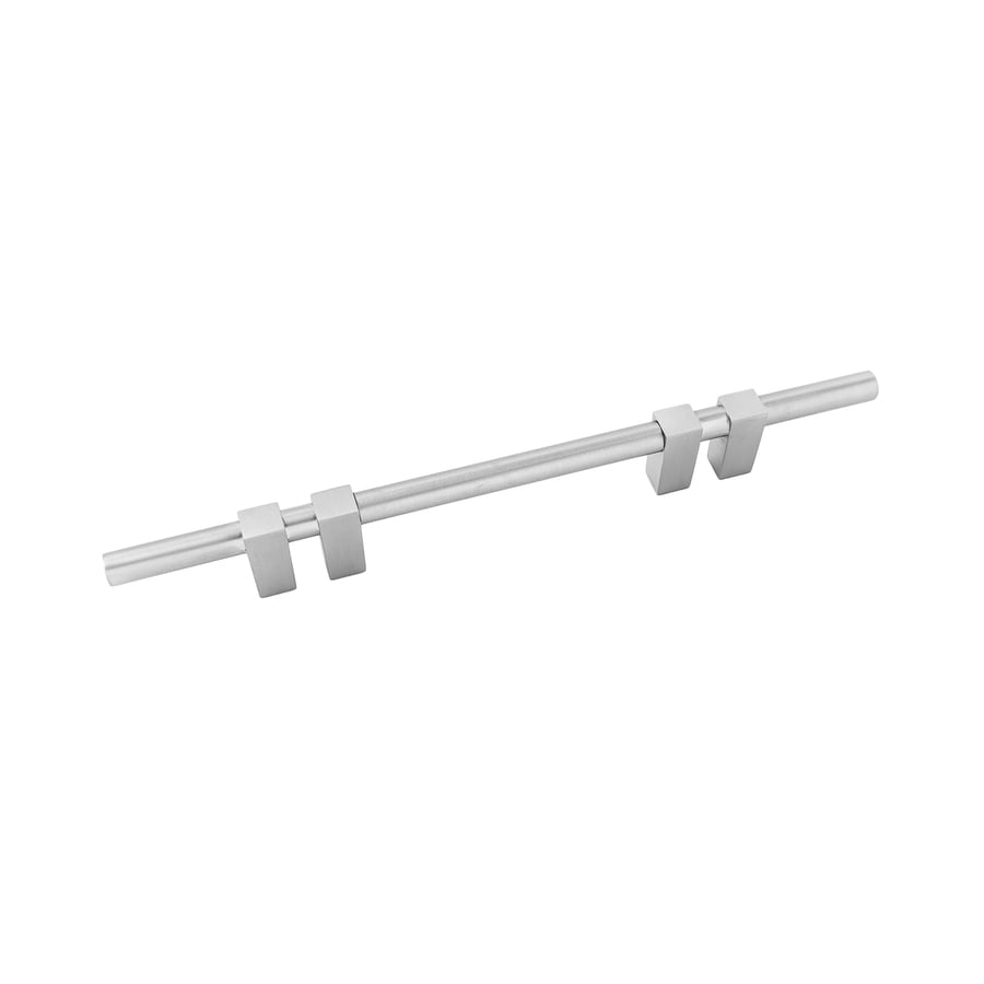 Continental Home Hardware 4-in Center-to-Center Satin Nickel Elon Bar Cabinet Pull