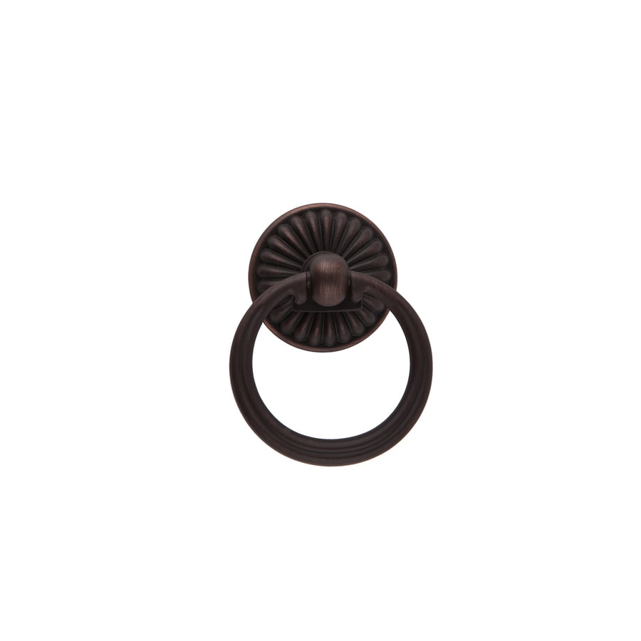 Sumner Street Center-to-Center Oil-Rubbed Bronze Belmont Ring Cabinet Pull