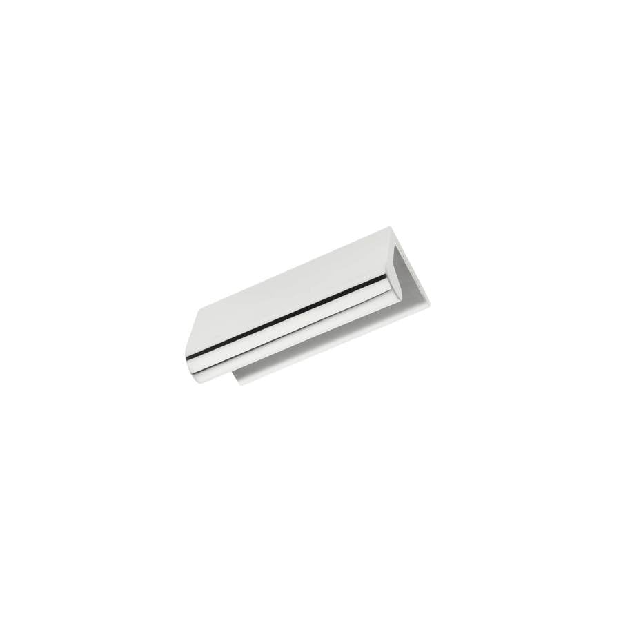 Continental Home Hardware 3/4-in Center-to-Center Polished Nickel Stella Rectangular Cabinet Pull