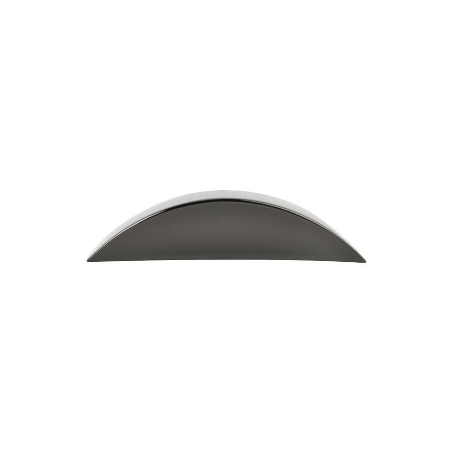 Continental Home Hardware 2-1/2-in Center-to-Center Black Nickel Graham Arched Cabinet Pull