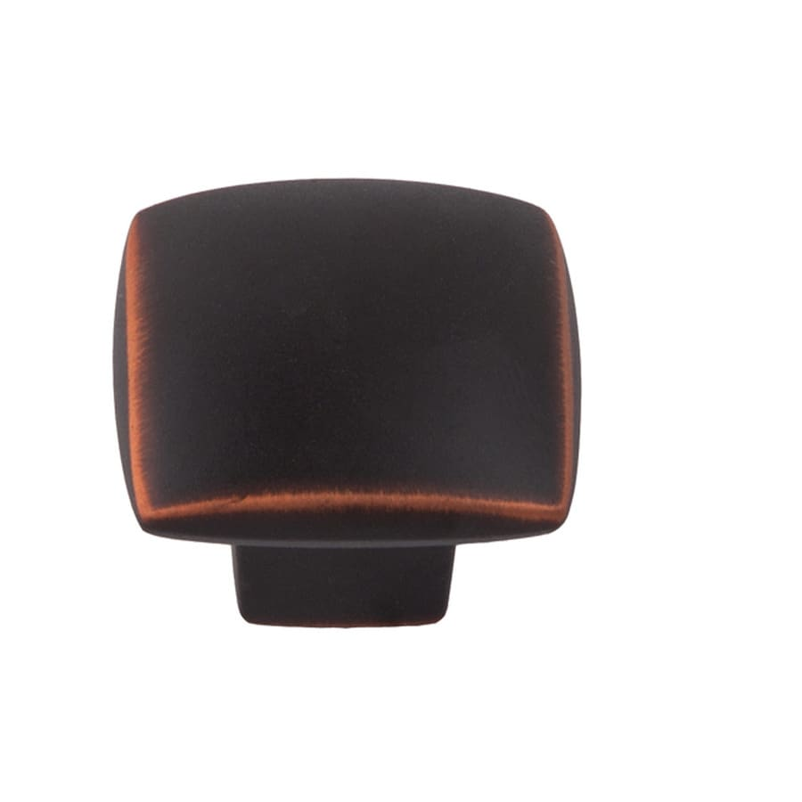 Sumner Street Symmetry Oil-Rubbed Bronze Square Cabinet Knob