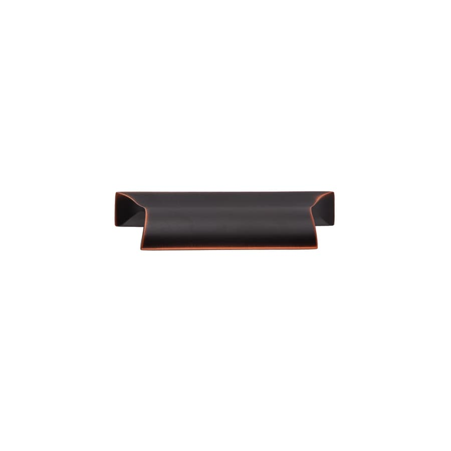 Continental Home Hardware 2-3/4-in Center-to-Center Oil-Rubbed Bronze Boise Cup Cabinet Pull