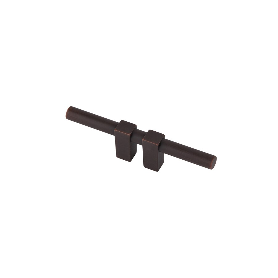 Continental Home Hardware 3/4-in Center-to-Center Satin Copper Elon Bar Cabinet Pull