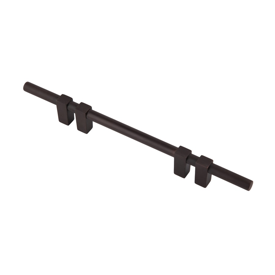 Continental Home Hardware 4-in Center-to-Center Satin Copper Elon Bar Cabinet Pull