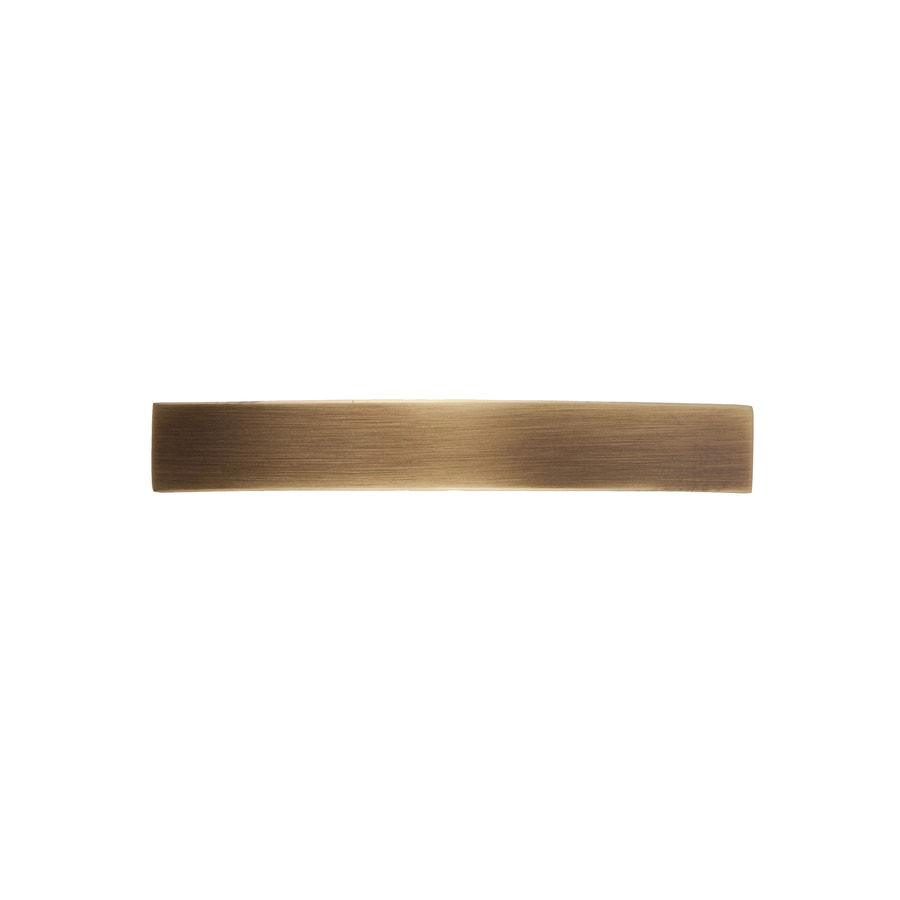 Continental Home Hardware 3-1/2-in Center-to-Center Vintage Brass Graham Arched Cabinet Pull