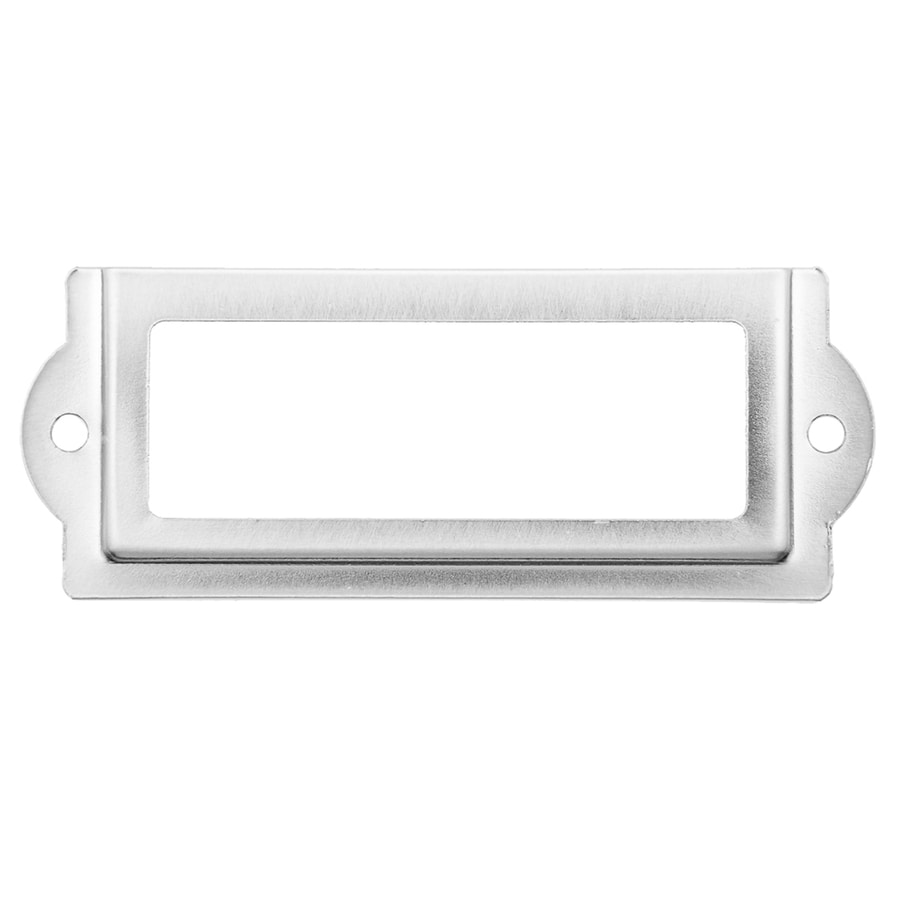 Continental Home Hardware Silver Cabinet Backplate