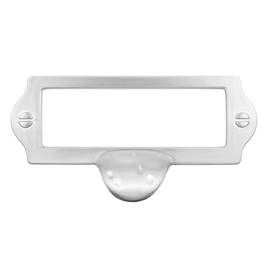 Continental Home Hardware 3-in Center-to-Center Satin Nickel Furniture Rectangular Cabinet Pull