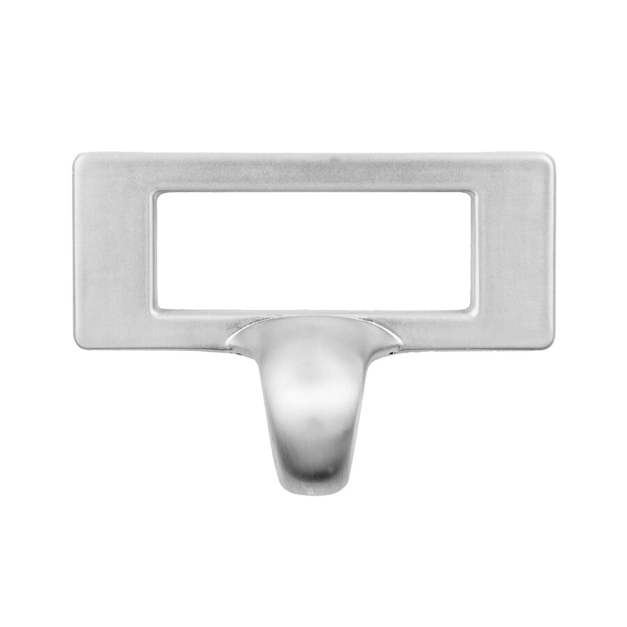 Continental Home Hardware 1-13/16-in Center-to-Center Satin Nickel Furniture Rectangular Cabinet Pull