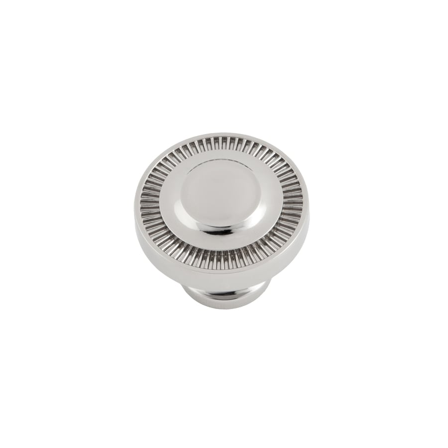Sumner Street Minted Polished Nickel Round Cabinet Knob