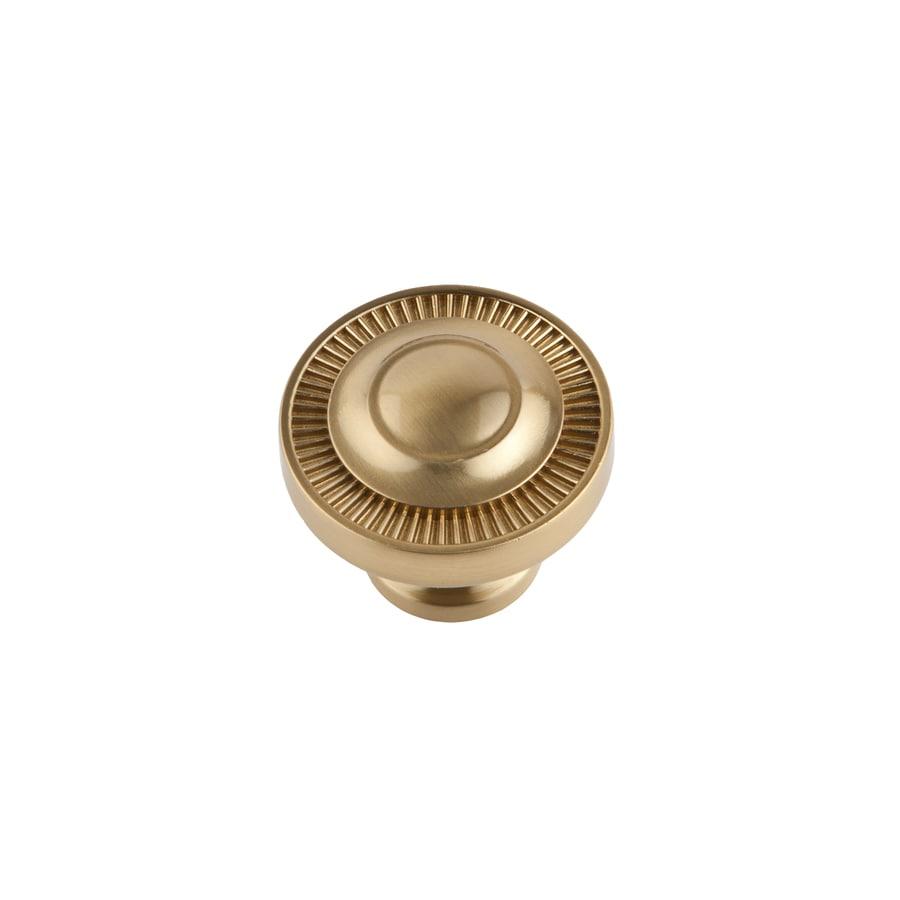 shop sumner minted satin brass cabinet knob