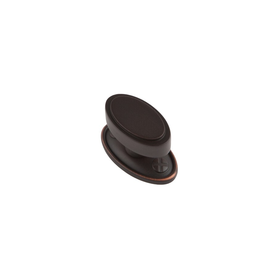 Sumner Street Ovaline Oil Rubbed Bronze Oval Cabinet Knob