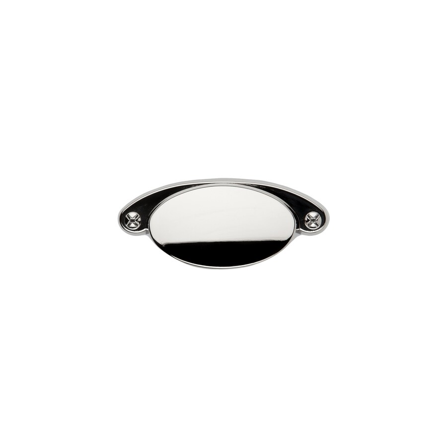 Sumner Street 2-1/4-in Center-to-Center Polished Nickel Ovaline Cup Cabinet Pull