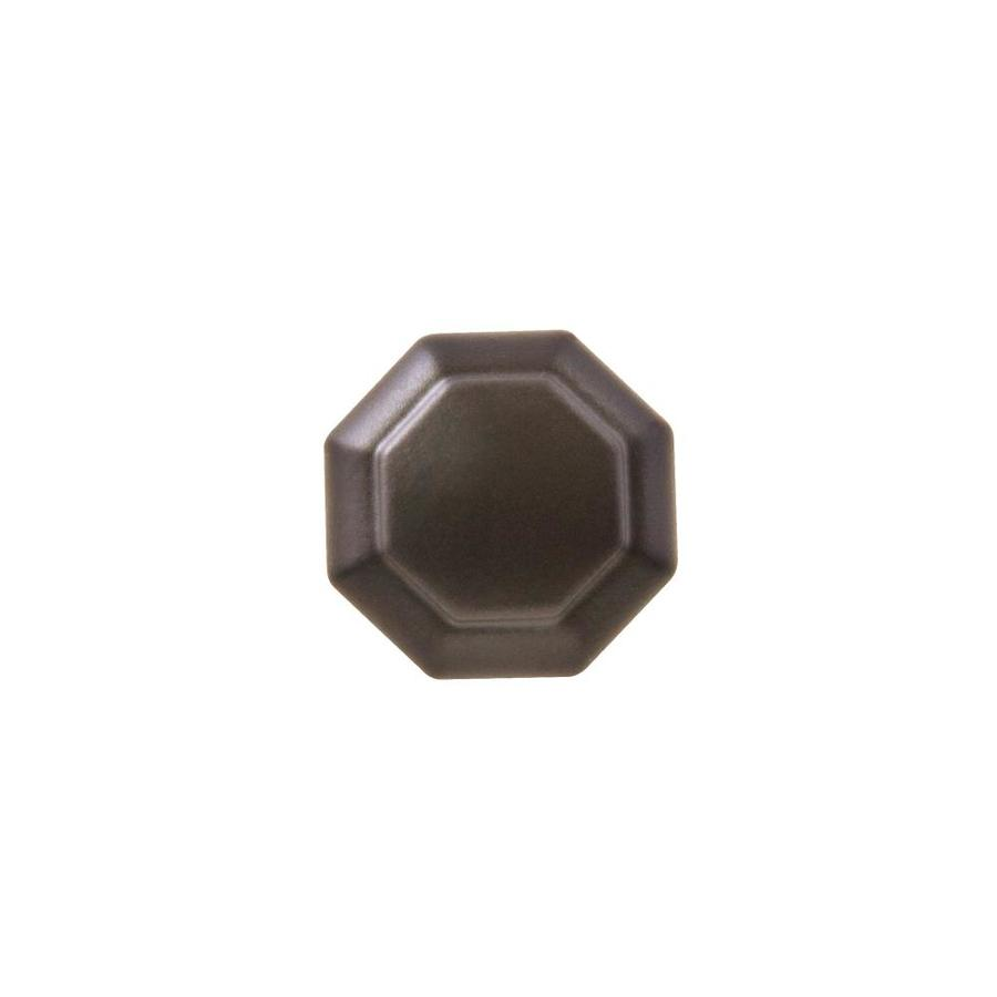 Sumner Street Octagon Oil-Rubbed Bronze Octangular Cabinet Knob