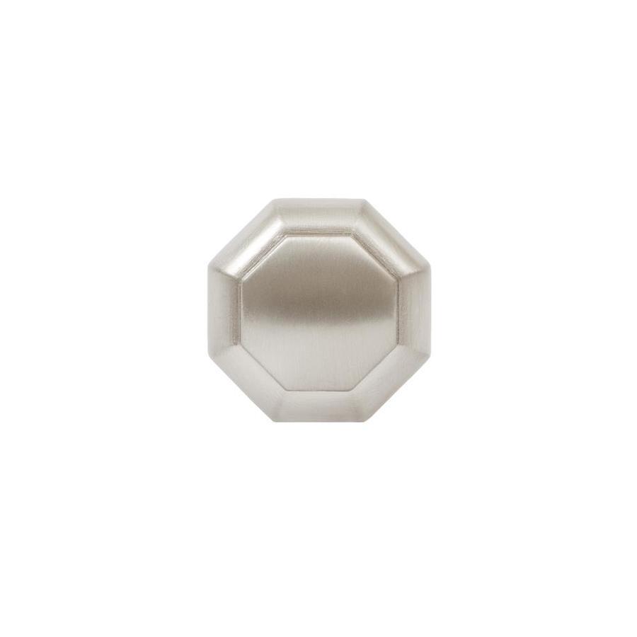 Sumner Street Symmetry Satin Nickel Octangular Cabinet Knob
