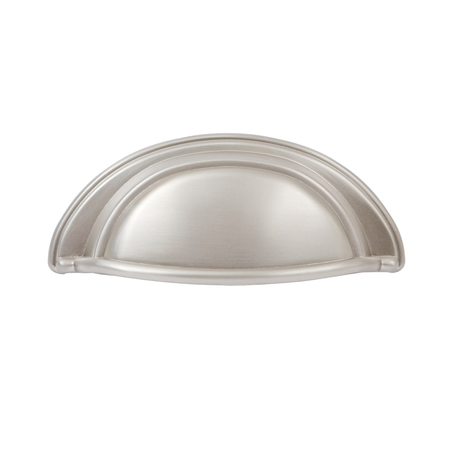 Shop sumner street 3 in center to center satin nickel for 3 kitchen cabinet handles