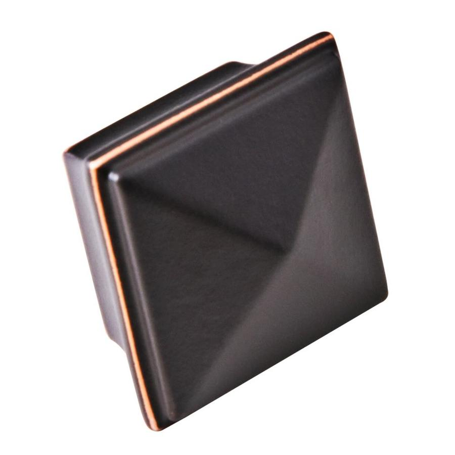 Sumner Street Pyramid Oil-Rubbed Bronze Square Cabinet Knob