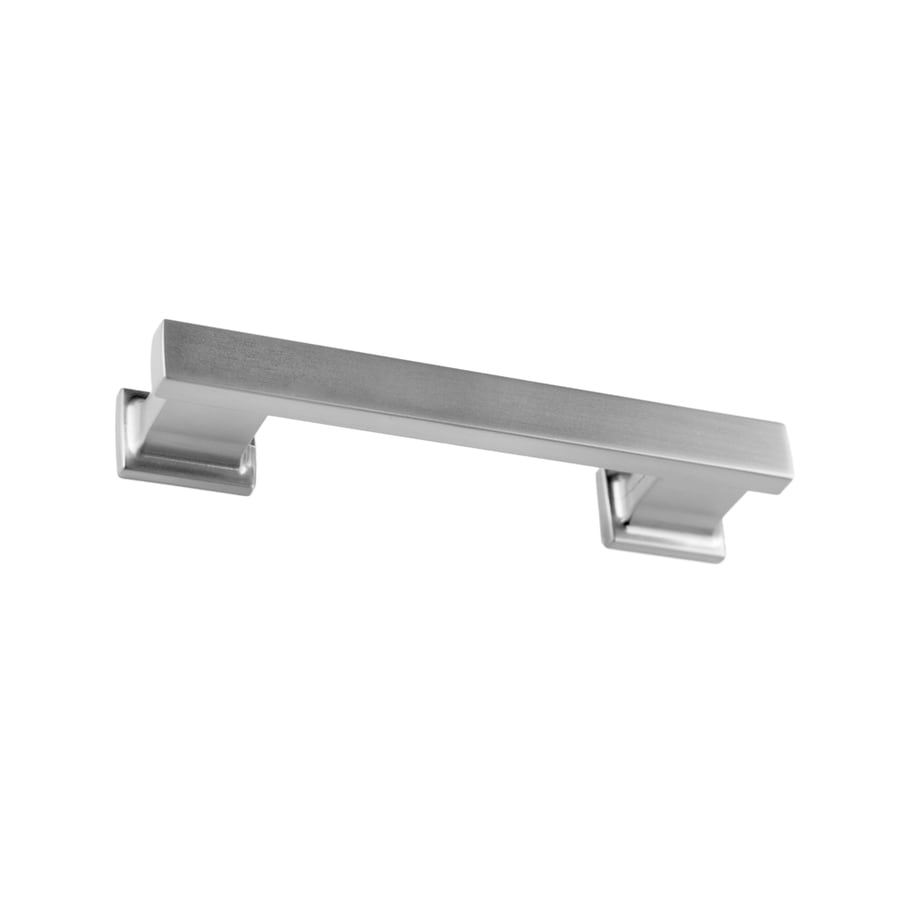 Shop sumner street 3 1 2 in center to center satin nickel for 4 kitchen cabinet pulls