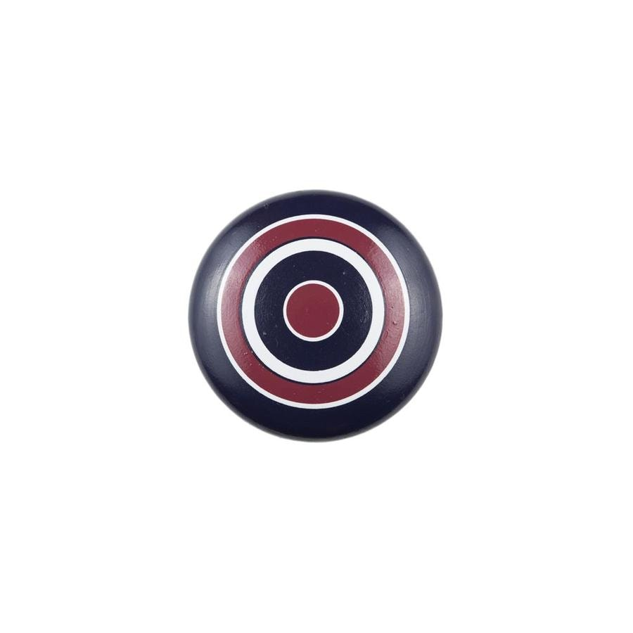 Sumner Street Nautical Stripe Round Cabinet Knob