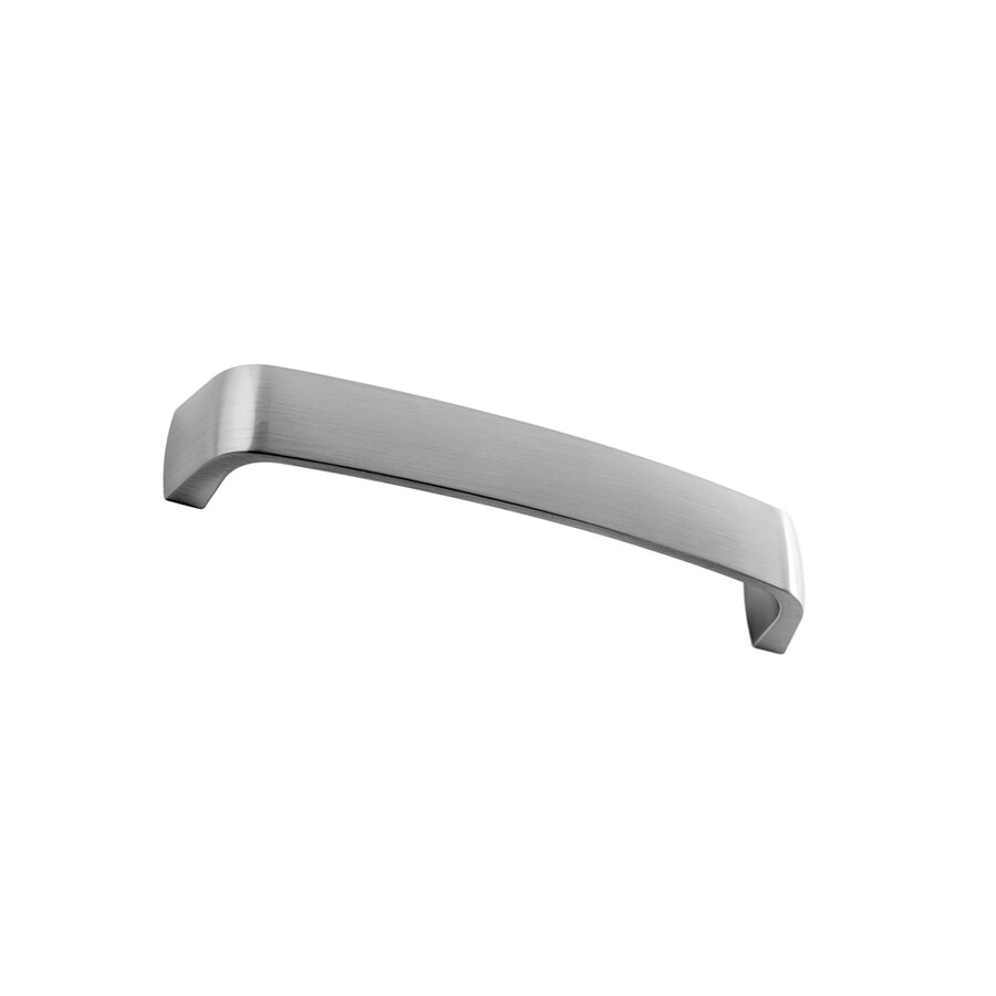 Continental Home Hardware 128mm Center-to-Center Satin Nickel Architectural Bar Cabinet Pull