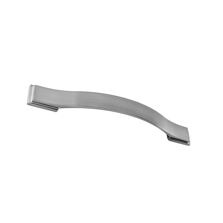 Continental Home Hardware 160mm Center-to-Center Satin Nickel Architectural Bar Cabinet Pull