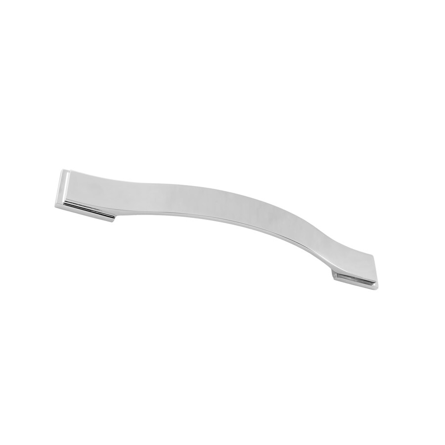 Continental Home Hardware 160mm Center-to-Center Polished Nickel Architectural Bar Cabinet Pull