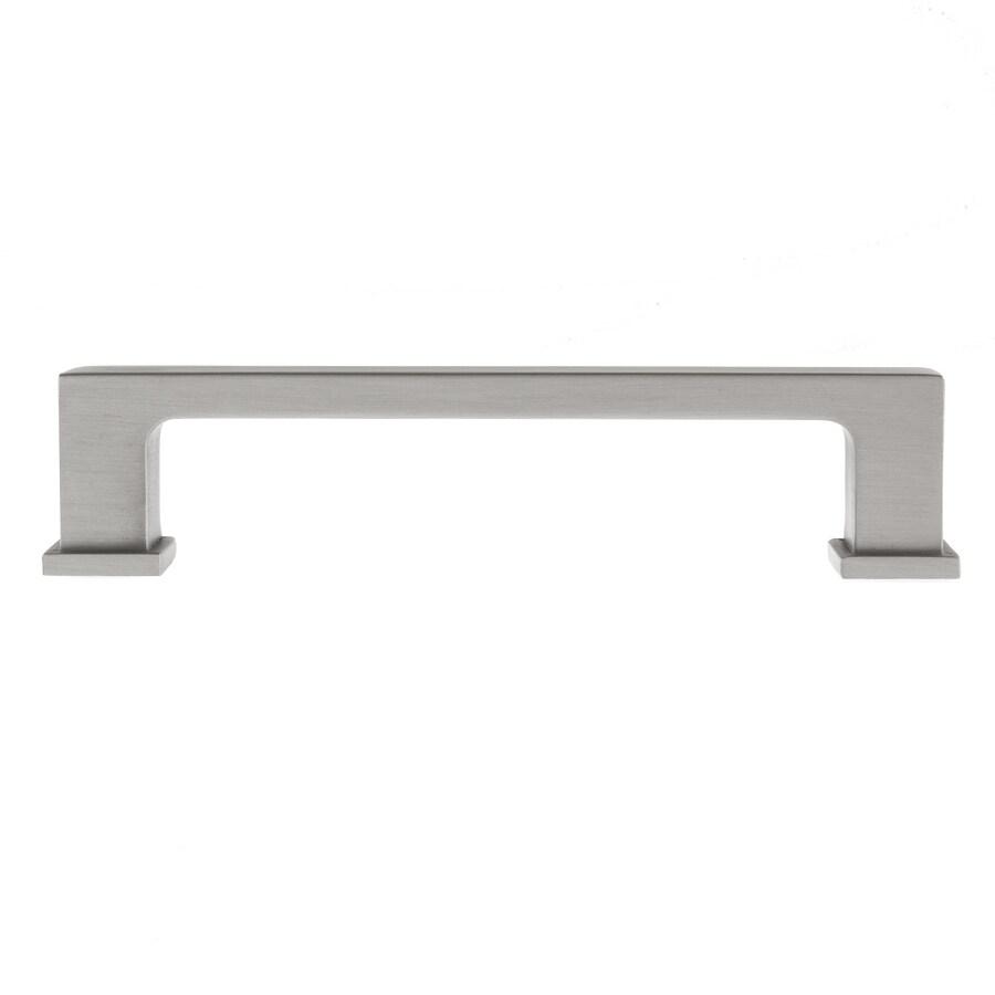 Square Kitchen Cabinet Door Handles Brushed Nickel Cupboard Drawer Pulls Black