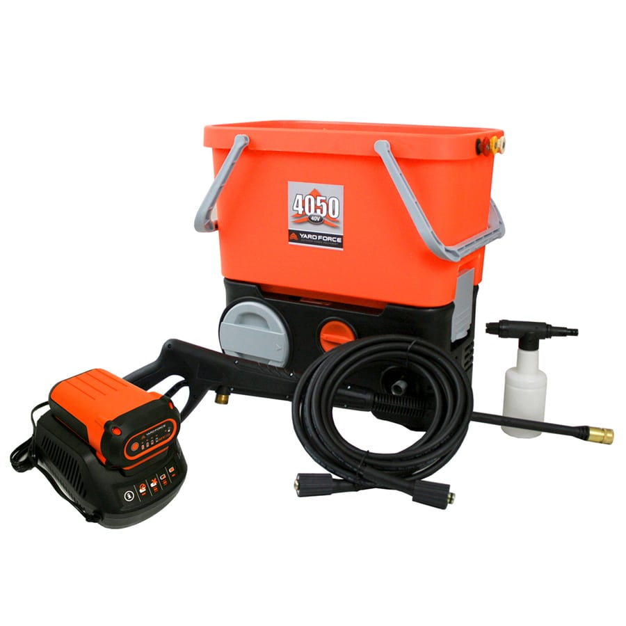Yard Force 1,350-PSI 1-GPM Cold Water Electric Pressure Washer