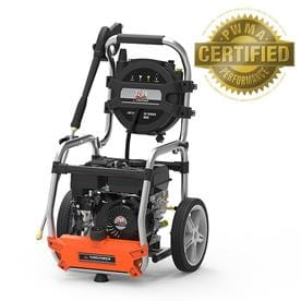 37u0022 3200psi Gas Power Pressure Washer With Hose Reel And Turbo Nozzle - Yard Force