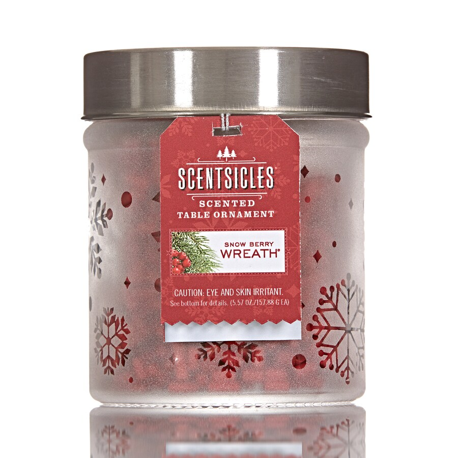 ScentSicles Snowberry Wreath Reed Diffuser
