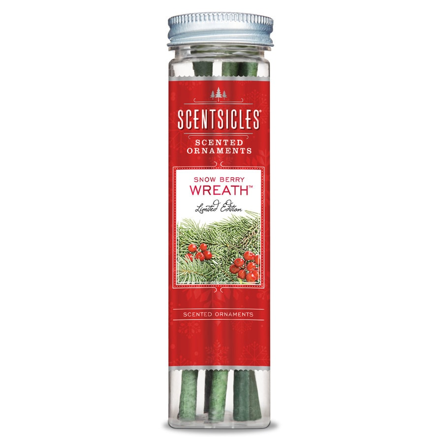 ScentSicles 6-Pack Snowberry Wreath Reed Diffuser