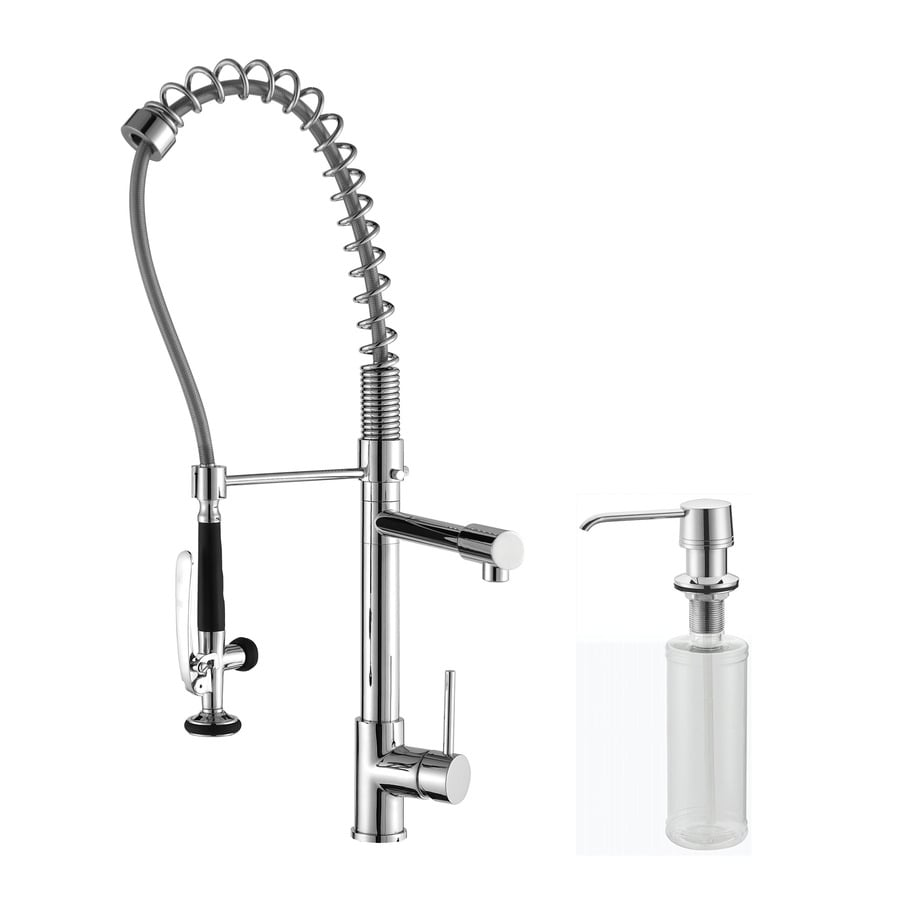 Kraus Premium Chrome 1-Handle Pre-Rinse Kitchen Faucet