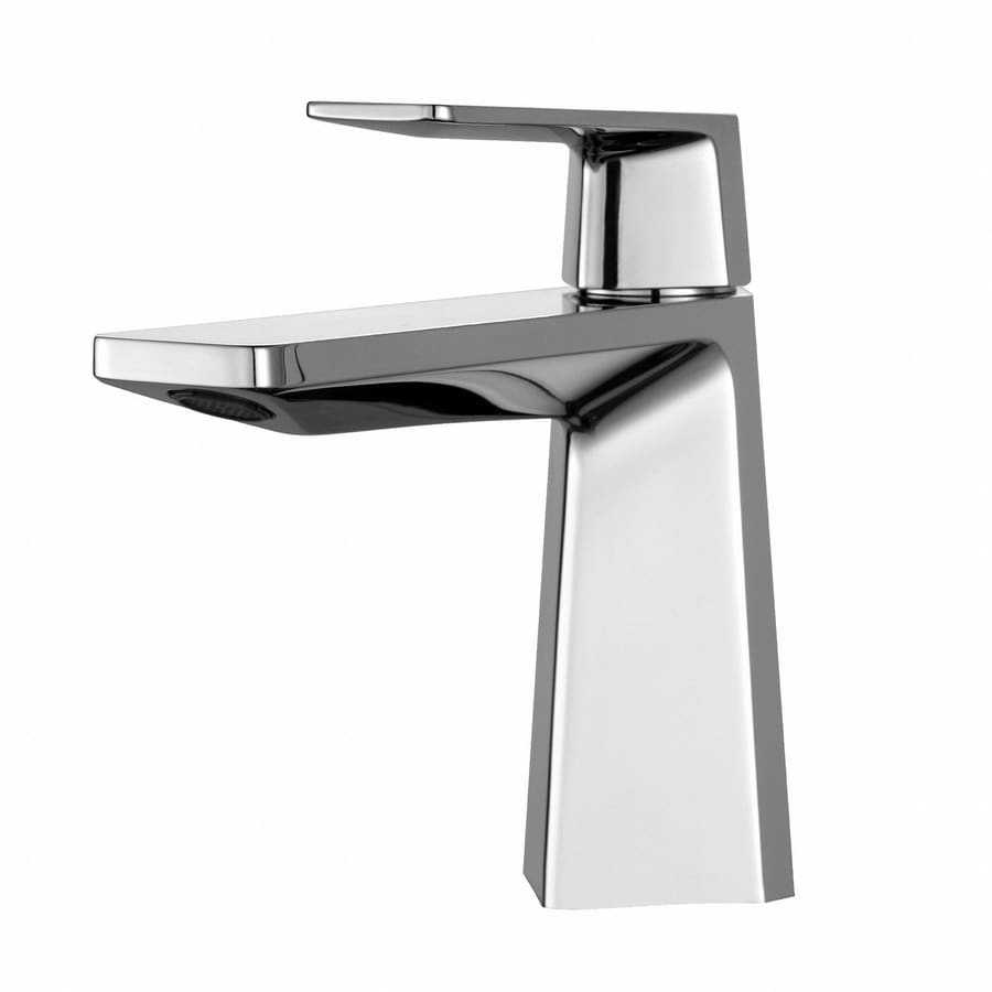 Kraus Exquisite Chrome 1-Handle Single Hole Bathroom Sink Faucet