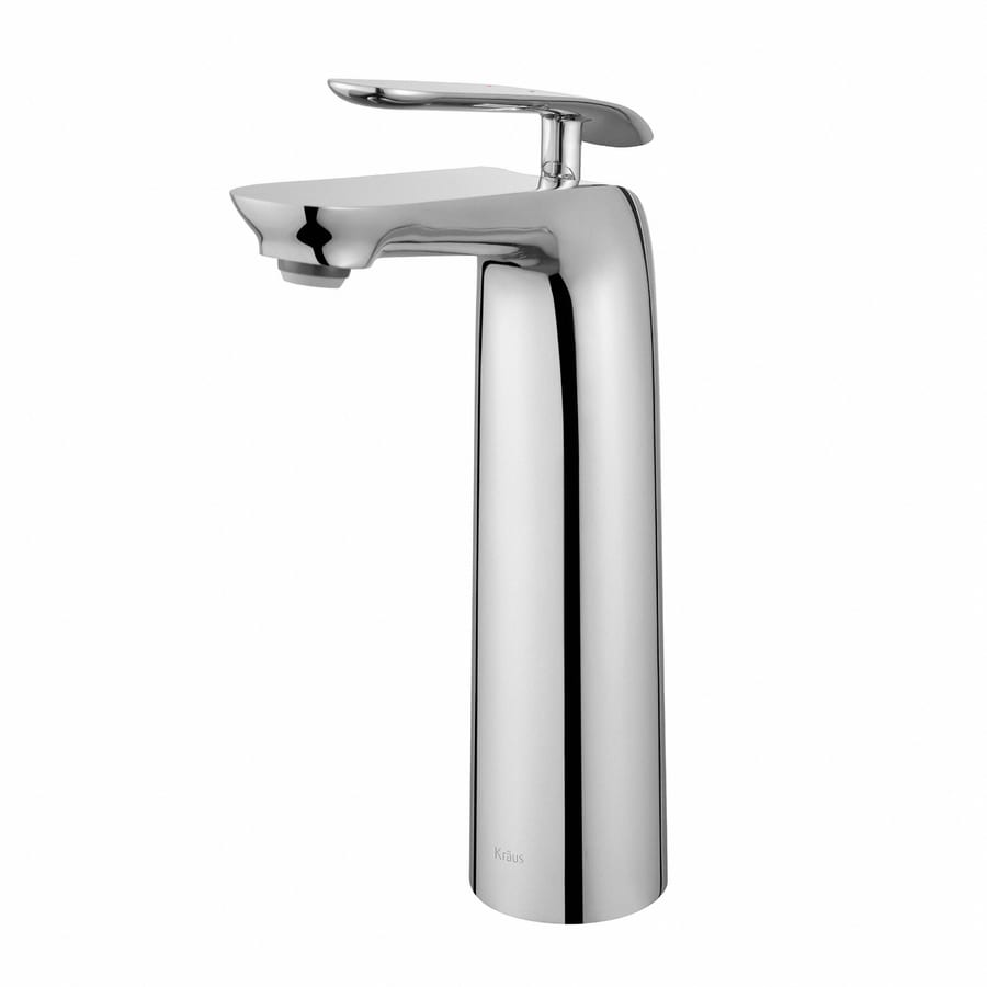 shop kraus seda chrome 1 handle vessel watersense bathroom