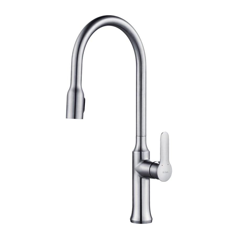 Kraus Nola Chrome 1-Handle Pull-Down Kitchen Faucet