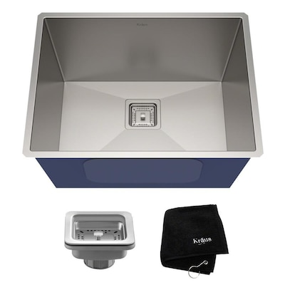 Kraus Pax 24 In X 18 5 In Stainless Steel Single Basin