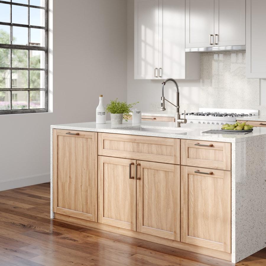 Kitchen Sink 19 X 33: Kraus Standart Pro 33-in X 19-in Satin Double-Basin