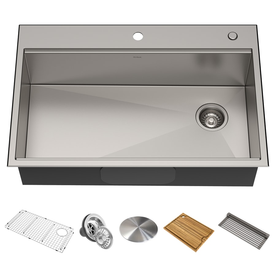 Stainless Steel Kitchen Sinks At Lowes Com