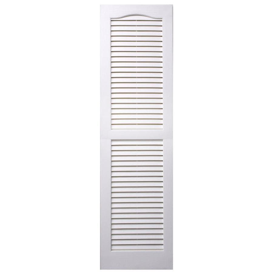 Alpha paintable louvered vinyl exterior shutters common - Paintable louvered vinyl exterior shutters ...