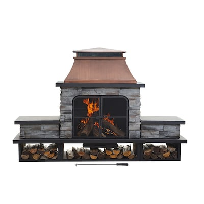 Outdoor Wood Burning Fireplaces At Lowes Com