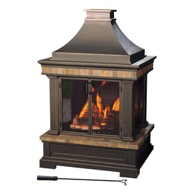 wood burning patio heater Sunjoy Fire Pits Patio Heaters At Lowescom