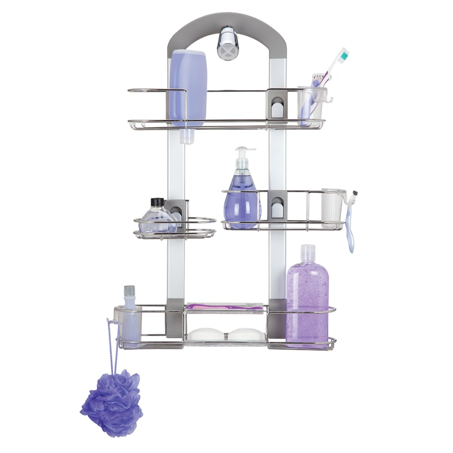 Shop Odyssey Chrome Stainless Steel Bathtub Caddy at Lowes.com