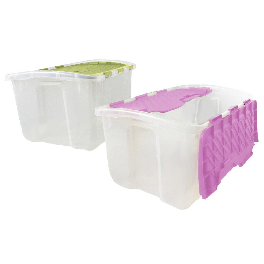 Style Selections 12-Gallon General Tote