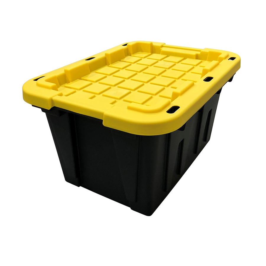 Centrex Plastics, LLC Commander 12-Gallon Tote with Latching Lid