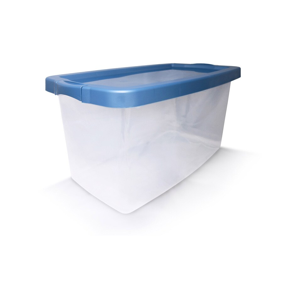 Gentil Centrex Plastics, LLC Rugged 16.5 Gallon (66 Quart) Clear Tote With