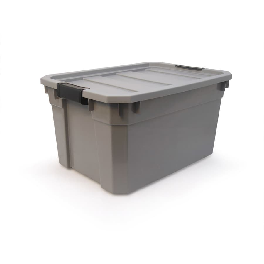 Shop Plastic Storage Totes at Lowescom