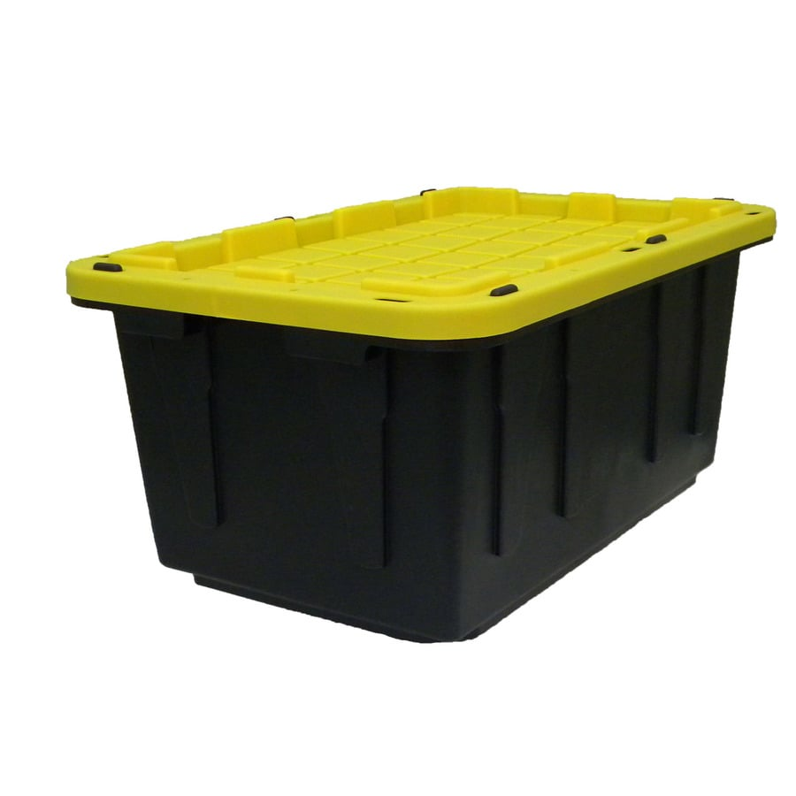 Superbe Centrex Plastics, LLC Commander 17 Gallon (68 Quart) Black Tote With