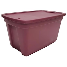 Style Selections 18-Gallon (72-Quart) Berry Tote with Standard Snap Lid