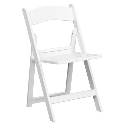 Wondrous Outdoor White Plastic Solid Standard Folding Chair Andrewgaddart Wooden Chair Designs For Living Room Andrewgaddartcom