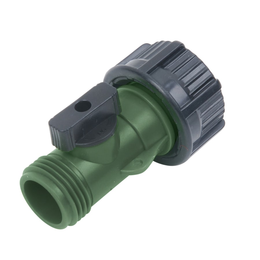Yardsmith Plastic Restricted-Flow Water Shut-Off